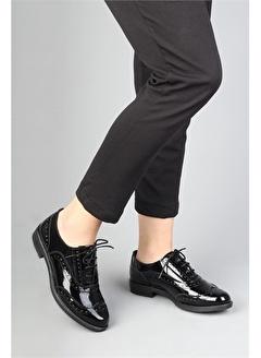 Modabuymus Modabuymus Hakiki Rugan Deri Kadın Oxford Ayakkabı - Oxpaytr